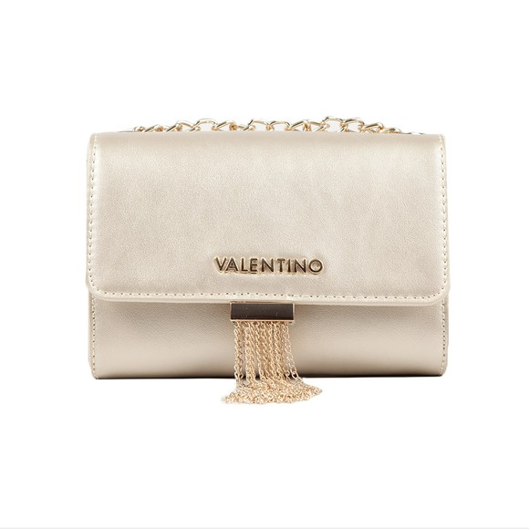 Valentino Bags Womens Gold Picadilly Satchel