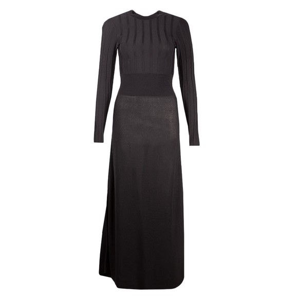 Ted Baker Womens Black Aimyy Open Back Knit Dress