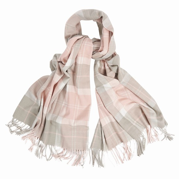 Barbour Lifestyle Womens Pink Hailes Wrap