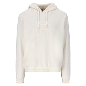 Lima Quilted Chest Logo Hoodie