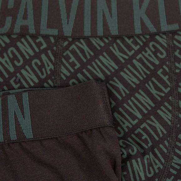 Calvin Klein Boys Black 2 Pack Trunks