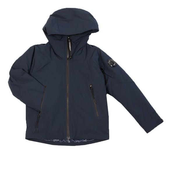C.P. Company Undersixteen Boys Blue Pro Tek Hooded Jacket
