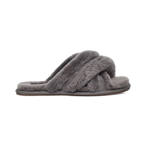 Ugg Womens Grey Scuffita Slipper
