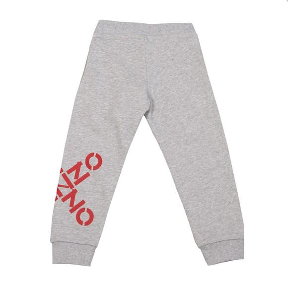 Kenzo Kids Boys Grey Cross Logo Jogger