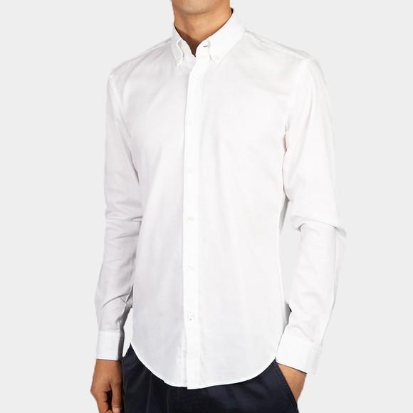 BOSS Mens White Formal Rod 53E Shirt