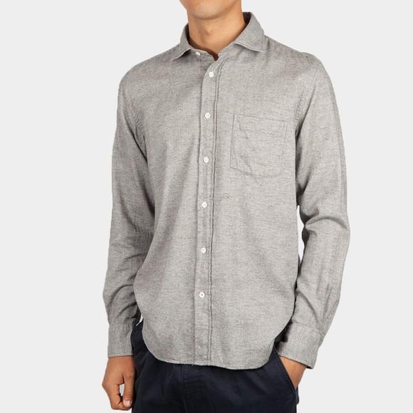 Hartford Mens Grey Paul Shirt