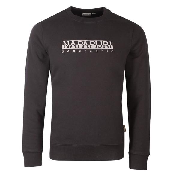Napapijri Mens Black Berber Crew Sweatshirt