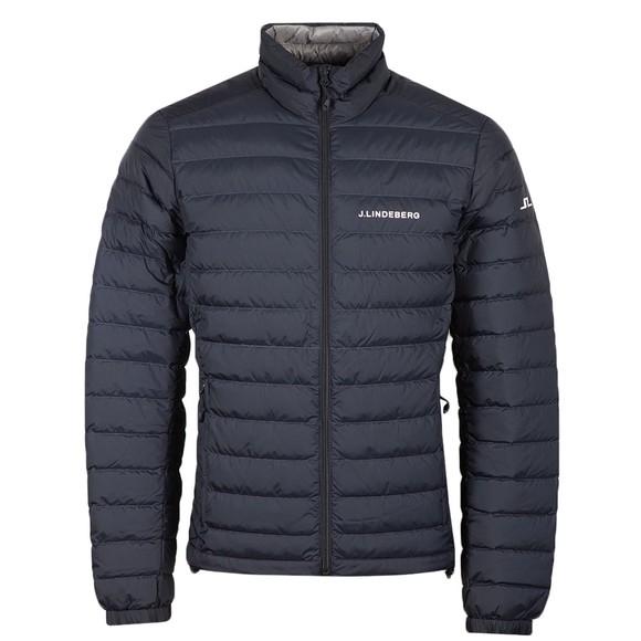 J.Lindeberg Mens Blue Thermic Down Jacket