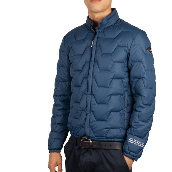 Replay Mens Blue Mid Weight Jacket main image
