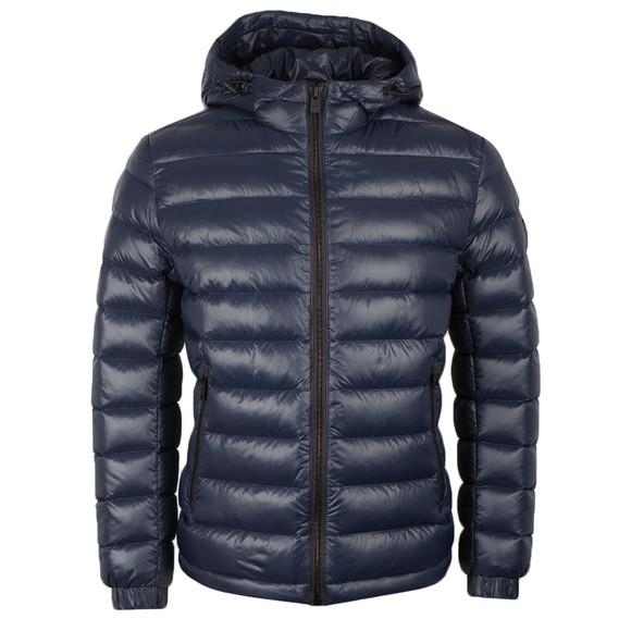 BOSS Mens Blue Casual Oxwizz2 Jacket