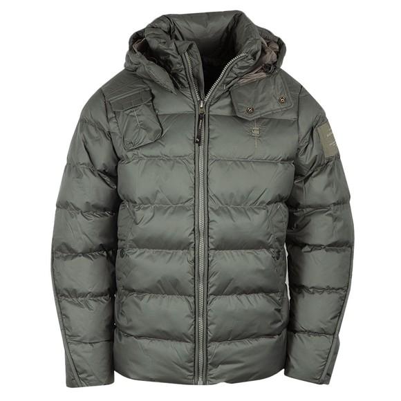 G-Star Mens Blue Whistler Hooded Jacket