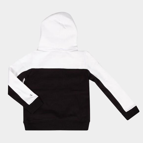 Calvin Klein Jeans Boys White Colour Block Hoody