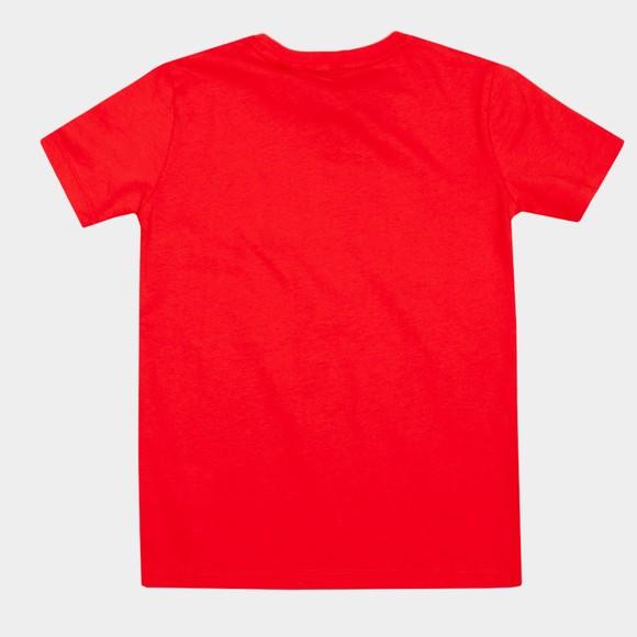 Gant Boys Red Retro Shield SS T-Shirt