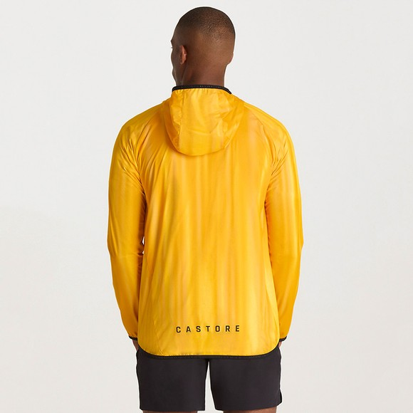 Castore Mens Gold Flyweight Running Jacket main image