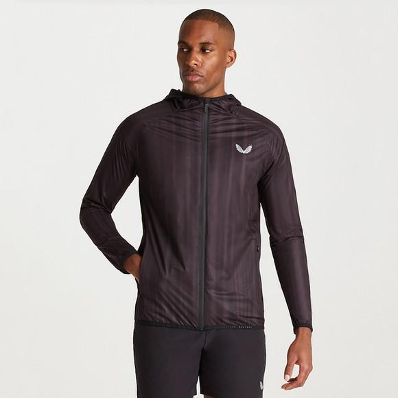 Castore Mens Black Flyweight Running Jacket