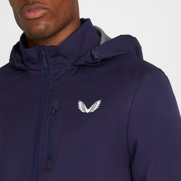 Castore Mens Blue Lightweight Soft Shell Jacket main image