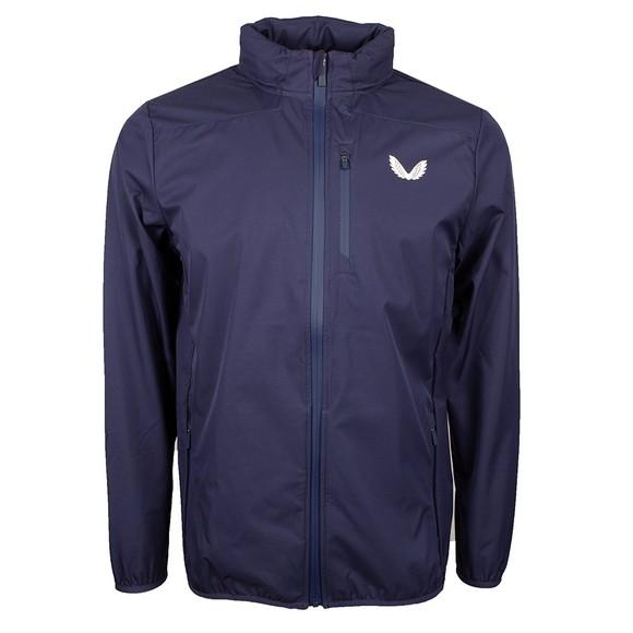 Castore Mens Blue Lightweight Soft Shell Jacket