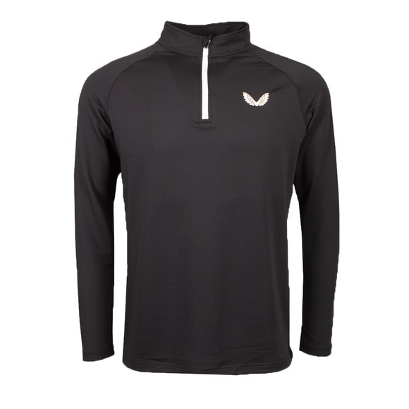 Castore Mens Black Quarter Zip Sweatshirt main image