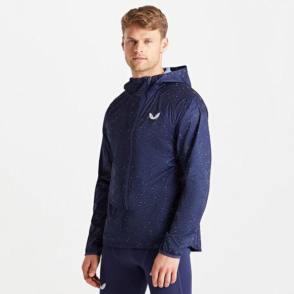 Castore Mens Blue Running Jacket