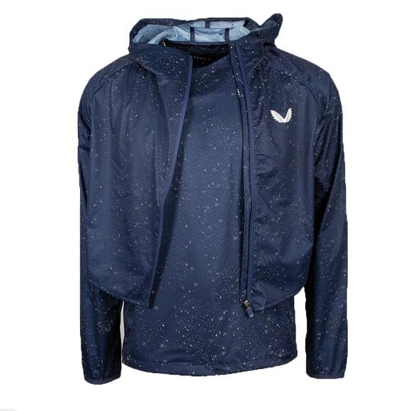 Castore Mens Blue Running Jacket main image