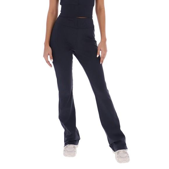 Fila Womens Black Zoe Hem Split High Waist Legging