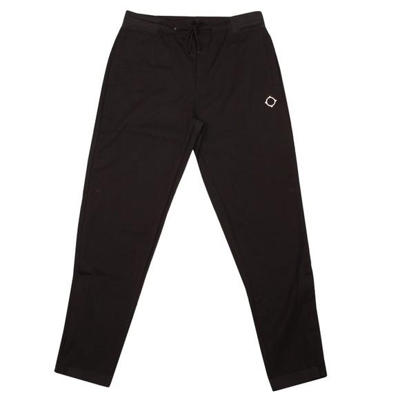 Ma.Strum Mens Black Tech Fleece Sweat Pant