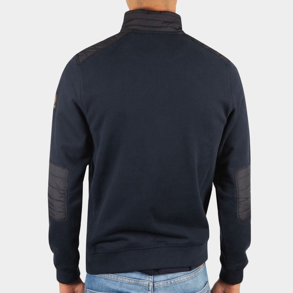 Belstaff Mens Blue Jaxon Quarter Zip Sweatshirt main image