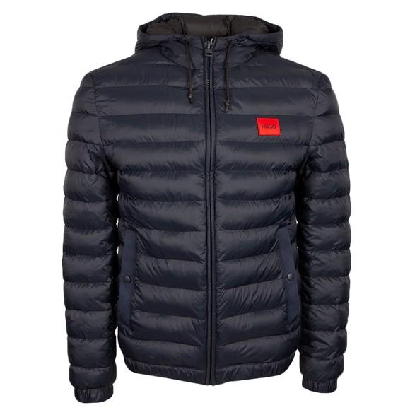 HUGO Mens Blue Balin2141 Puffer Jacket