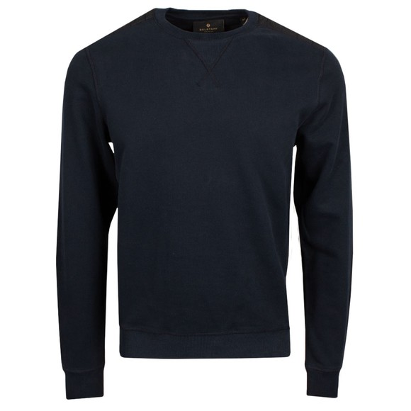 Belstaff Mens Blue Jarvis Sweatshirt