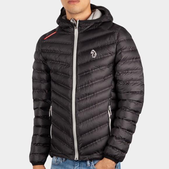 Luke Sport Mens Black Worldy Performance Jacket