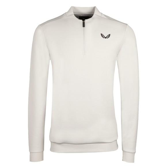 Castore Mens Grey 1/4 Zip Sweatshirt main image