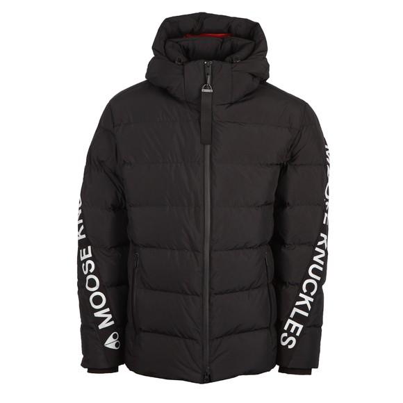 Moose Knuckles Mens Black Naufrage Jacket