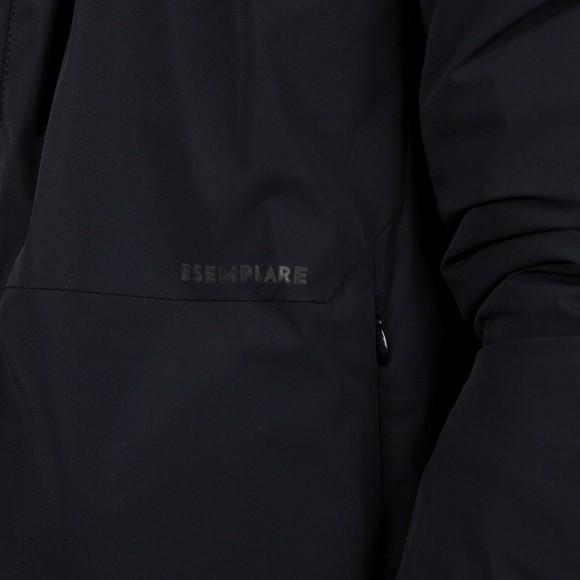 Esemplare Mens Black Ultra Light Nylon Shell Jacket main image