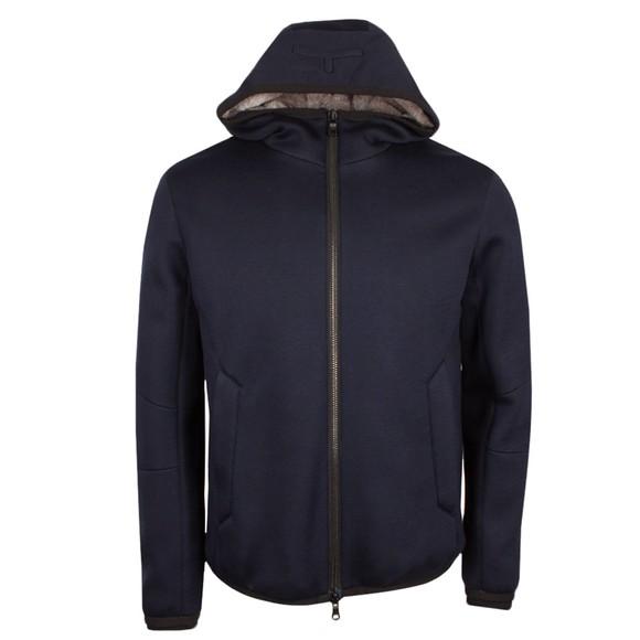 Esemplare Mens Blue EP7665 Fur Lined Jacket main image