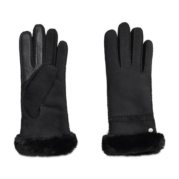 Ugg Womens Black Seamed Tech Glove