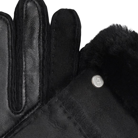 Ugg Womens Black Seamed Tech Glove main image