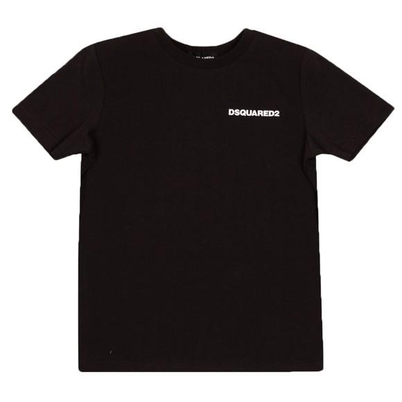 Dsquared2 Boys Black Basic Logo T Shirt