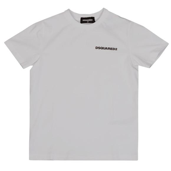 Dsquared2 Boys White Basic Logo T Shirt