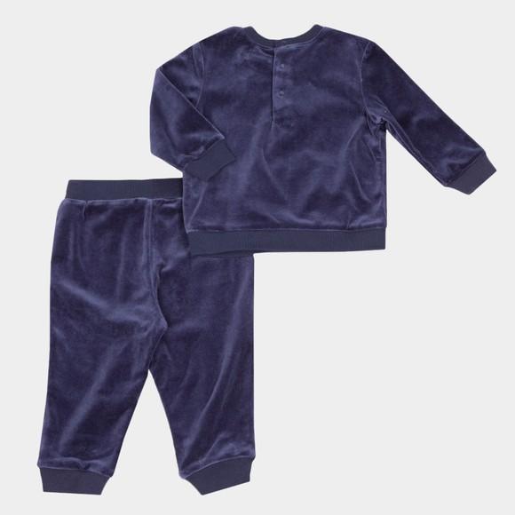 Polo Ralph Lauren Boys Blue Cotton Velour Tracksuit main image