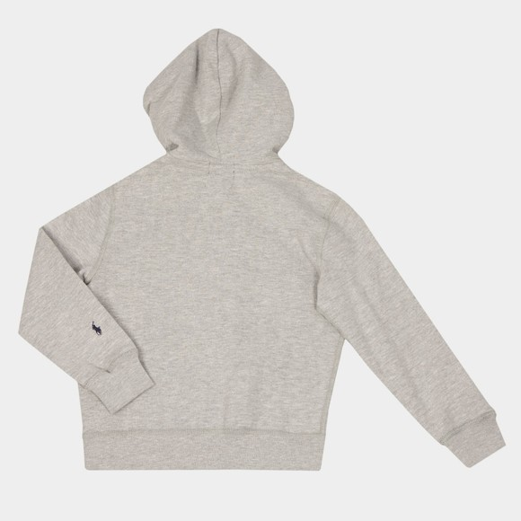 Polo Ralph Lauren Boys Grey Varsity Logo Zip Hoody