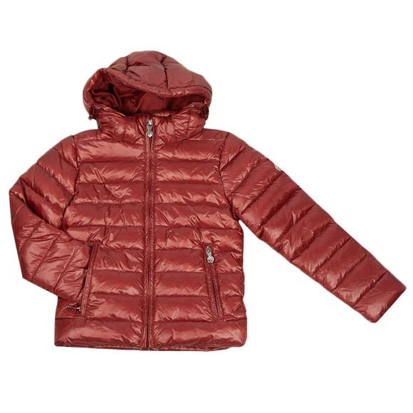 Pyrenex Girls Brown Spoutnic Shiny Jacket