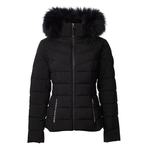 Holland Cooper Womens Black Whistler Puffer Jacket