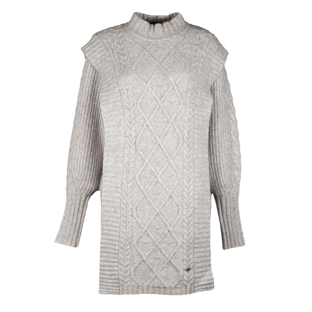 ARRIAA Cable Sweater Dress