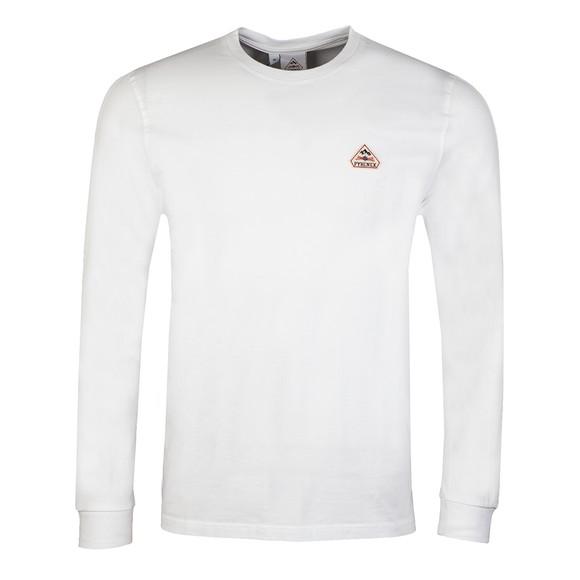 Pyrenex Mens White Bario Long Sleeve T-Shirt