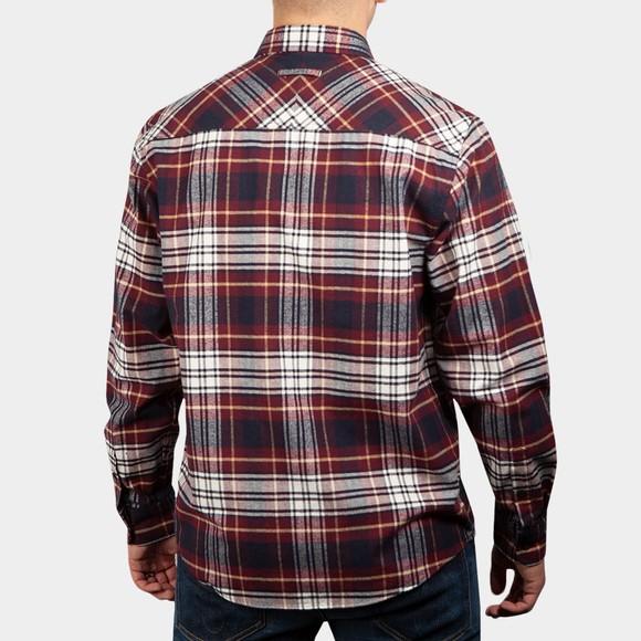 Carhartt WIP Mens Red Dunbar Shirt main image