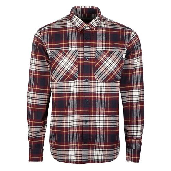 Carhartt WIP Mens Red Dunbar Shirt