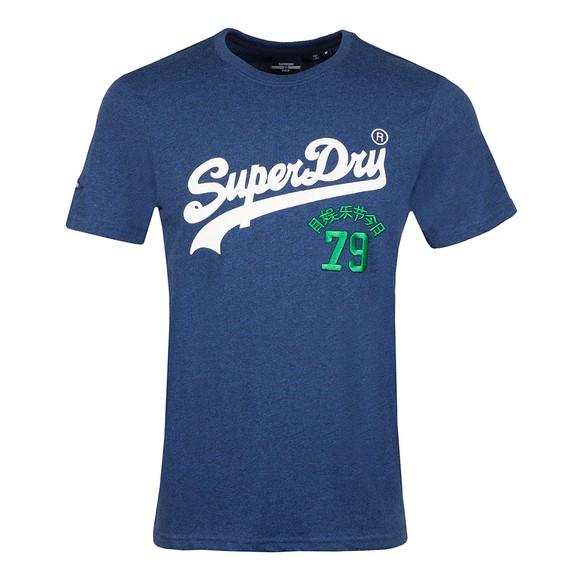Superdry Mens Blue VL Source T-Shirt main image