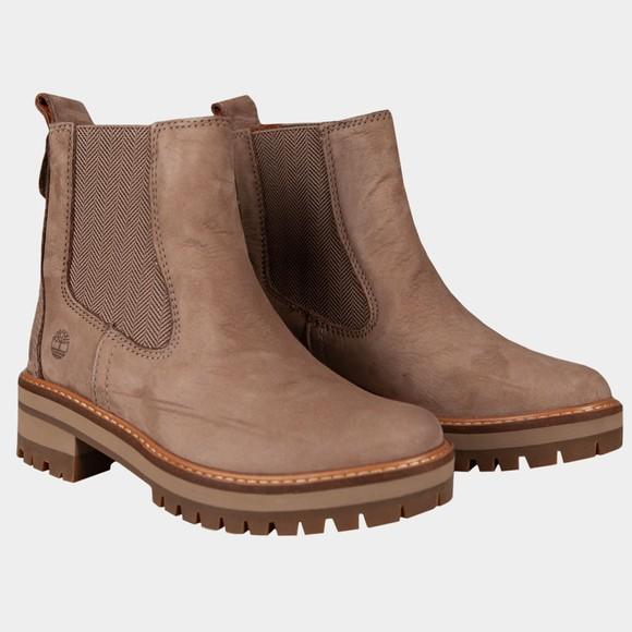 Timberland Womens Brown Courmayeur Valley Chelsea Boot