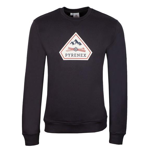 Pyrenex Mens Blue Charles Sweatshirt