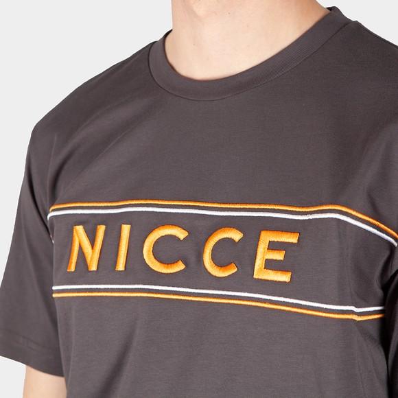 Nicce Mens Grey Cedar T-Shirt main image